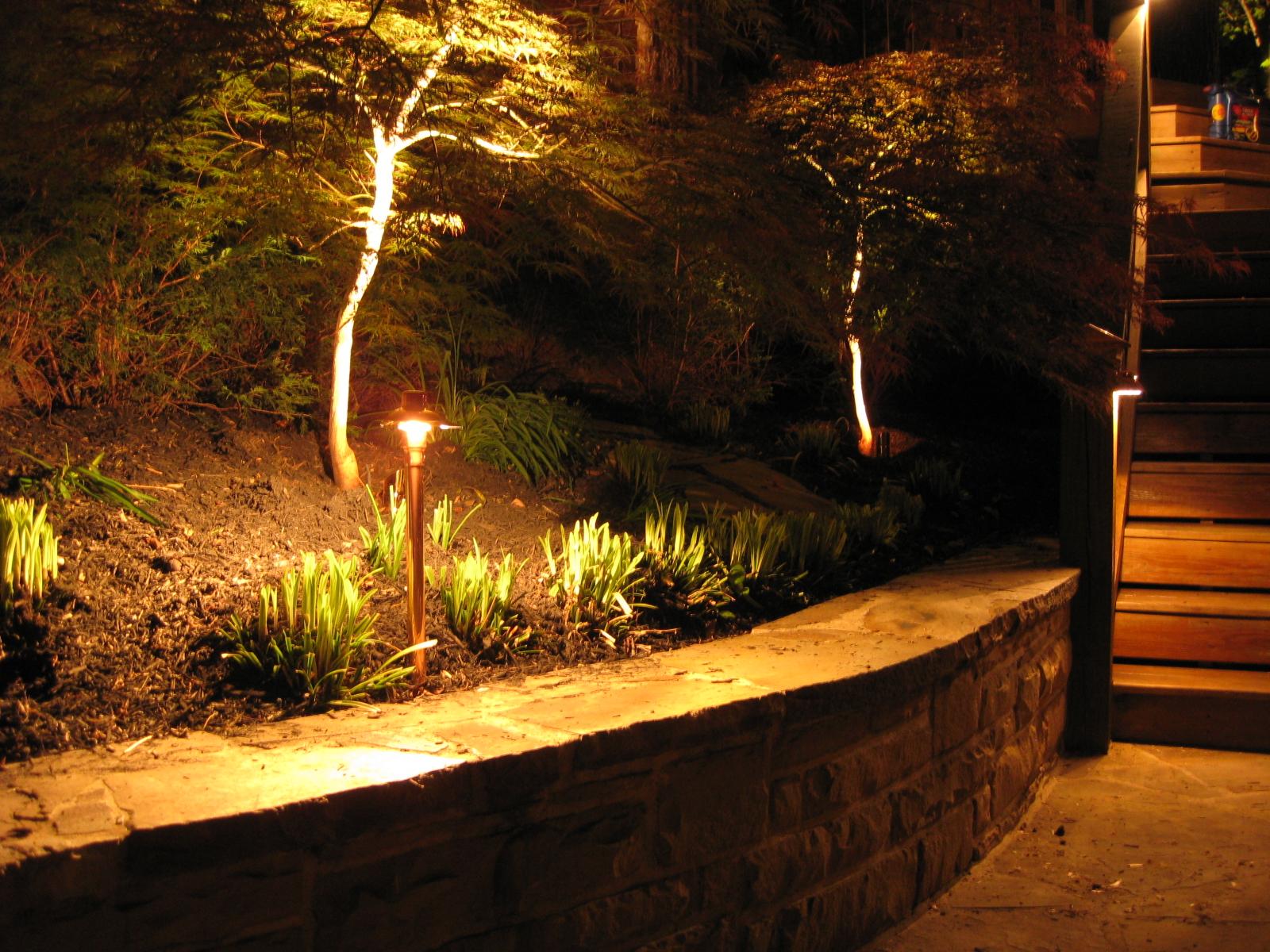 Beautiful 120 Volt Landscape Lighting